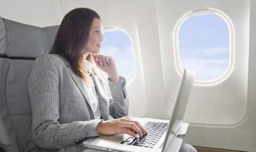 Online και στα αεροπλάνα